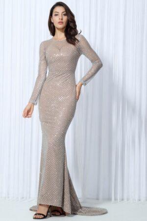 silver lattice dress (6)