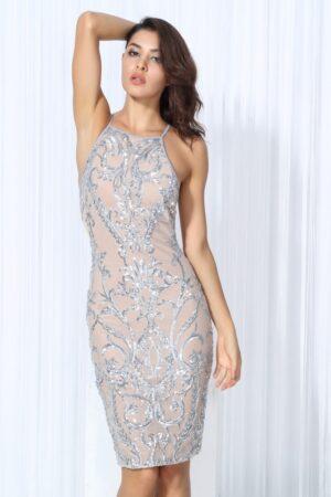 silver sleeveless dress (7)