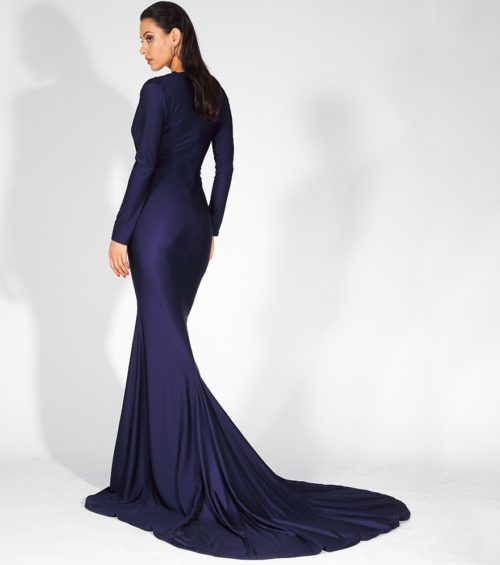Lily Blue evening gown 4