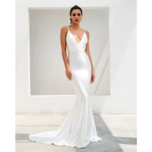 Samantha White Gown