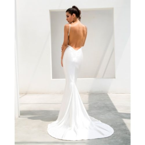 Samantha White Gown 4